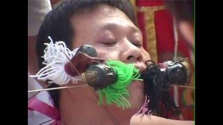 BEYOND BIZARRE VEGETARIAN FESTIVAL, TABOO! DOCUMENTARY. PHUKET, THAILAND