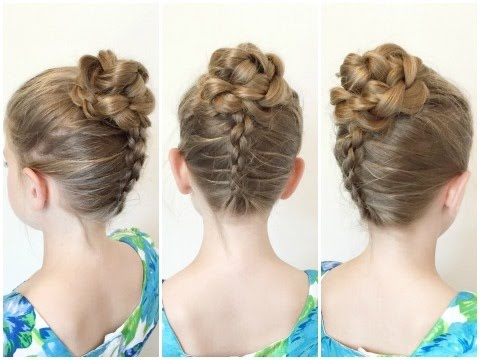 3D Flower Updo Tutorial