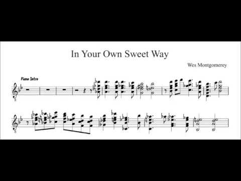 In Your Own Sweet Way - Wes Montgomery transcription