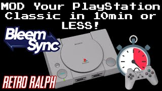 MOD your PlayStation Classic in 10 minutes or less!