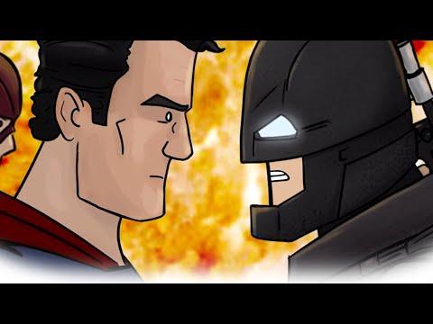 Как Должен Был Закончиться Фильм Бэтмен против Супермена: На заре справедливости — Русская Озвучка