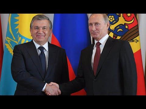 Встреча Владимира Путина с президентом Узбекистана. Полное видео