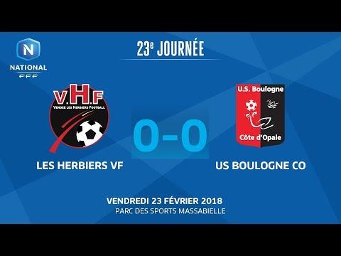 Vendredi 23/02/2018 à 19h45 - Vendée Les Herbiers - US Boulogne CO - J23