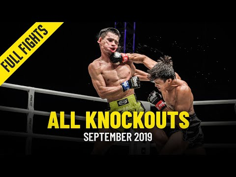 All Knockouts In September 2019 | ONE Full Fights