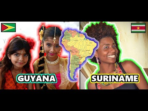 A Mix of Indians and Africans in South America? People of Guyana, Suriname and French Guiana