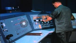 a us army 1st signal brigade soldier operates a signal data machine rd 304 at the hd stock footage