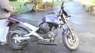 My 2001 buell blast, Starter bike.