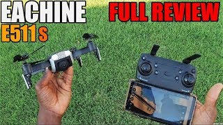EACHINE E511S FOLDABLE GPS DRONE REVIEW & FLIGHT TEST | BEST BUDGET DRONE FOR BEGINNERS?