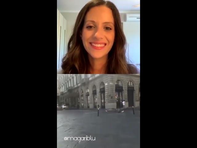 O fim da quarentena do covid-19 ao vivo das ruas de Florença na Itália