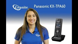 Troubleshooting- My Panasonic KX-TPA 60 Handset does not work