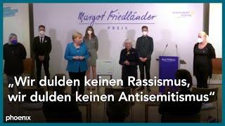 Verleihung Margot-Friedländer Preis 2021