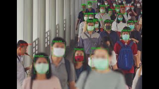 Mask Detection In Real Time Usine Caffe Model And MobilNet عربي