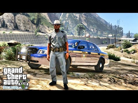 GTA 5 MODS LSPDFR 0.4.1 - NYSP PATROL!!! (GTA 5 REAL LIFE PC MOD) thumbnail