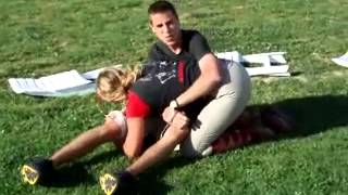 Sexy Girl Mixed Wrestling with Boy Friend