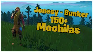 SHOWING THE JONESY SKIN-BUNKER & 150 + BACKPACKS | FORTNITE