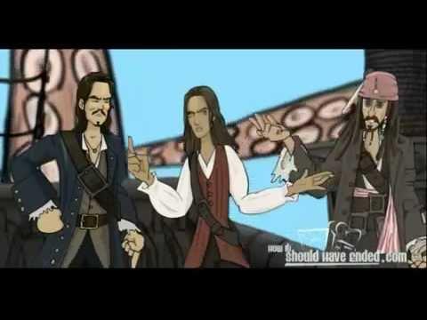 Comment ça aurait dû finir : Pirates des Caraïbes, Le Secret du coffre maudit poster