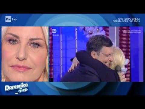 Antonella Clerici: 'La perdita di Fabrizio mi ha cambiato la vita' - Domenica In 18/11/2018