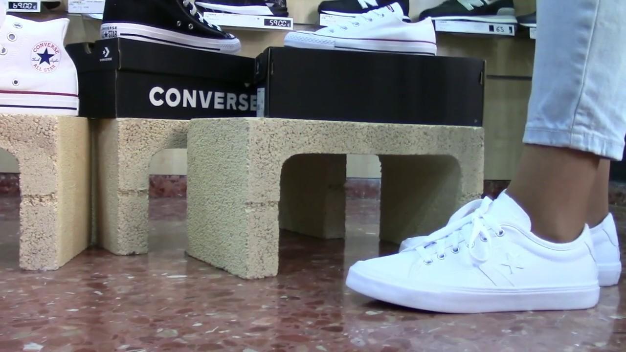 Asco tierra principal Marketing de motores de búsqueda  Converse Bota Mujer Blancas - Negras y Rojas. Tu Tienda Converse Valencia  2020 - Visítenos!!! - YouTube