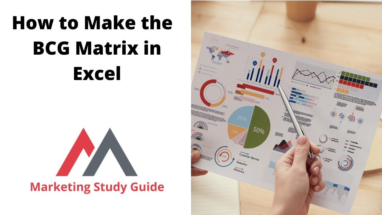 Using Excel To Make A Bcg Matrix