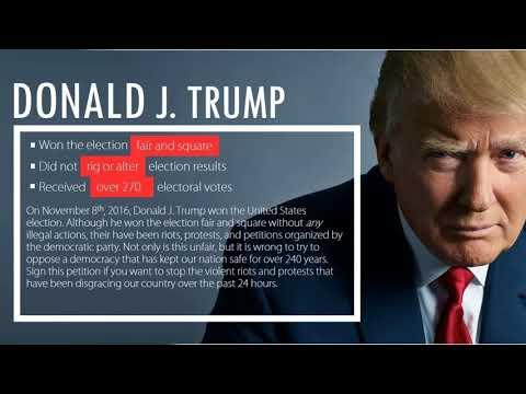 Student petition to revoke Trumps degree