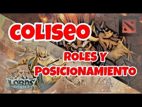 Lords Mobile ES - Coliseo Roles Y Posicionamiento
