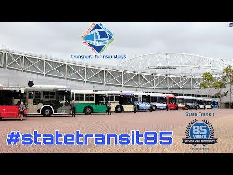Transport for NSW Vlog No.1115 #statetransit85 Media Event