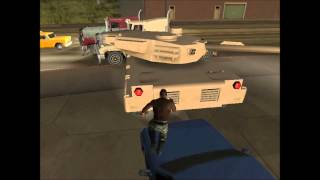 GTA San Andreas - Easy way to get on the unstoppable tram!
