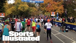 Run The NYC Marathon In Virtual Reality | 360 Video | Sports Illustrated