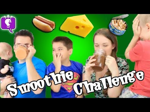 Smoothie Challenge with HobbyKidsTV