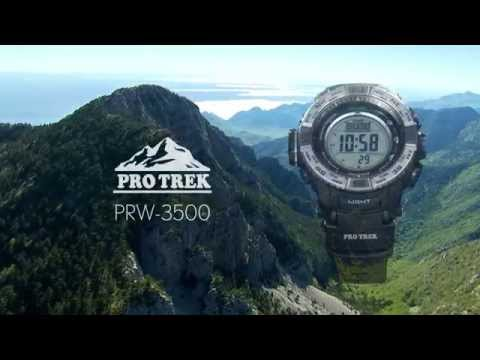Casio Pro Trek PRW-3500 Triple Sensor Ver.3 Watch
