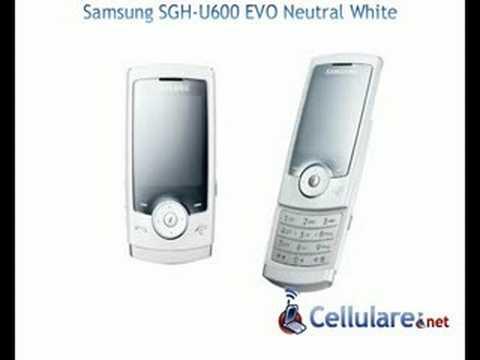 Samsung  SGH-U600 Neutral White