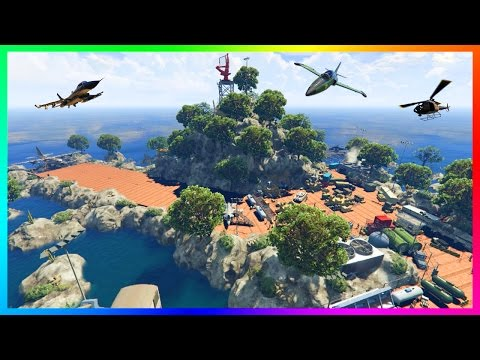 EXPLORING TOP SECRET GTA 5 MILITARY BASES, MOUNTAIN FORTRESSES, ARMY OUTPOSTS & MORE! (MODS)