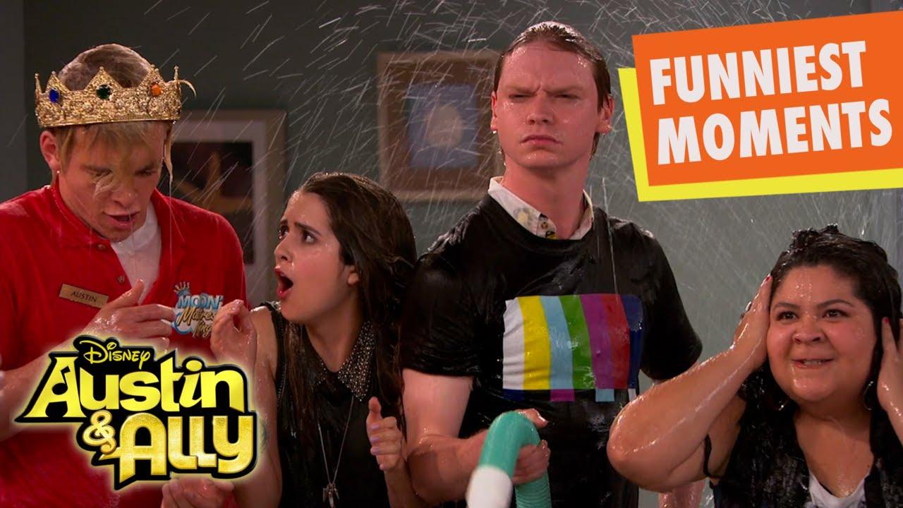Austin & Ally Funniest Moments   Disney Channel UK