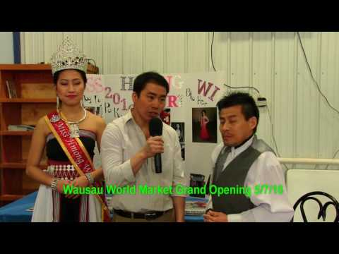 PA KOU LOR-Miss Hmong Wis. 2016 Sing National Anthem