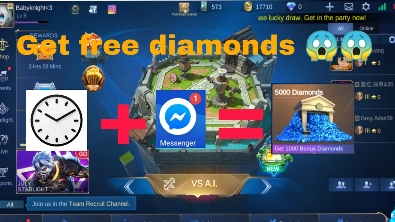 870 How To Get Free Diamond Mobile Legend HD