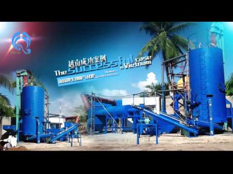 Rotary dryer for sawdust or wood chips drying, wood chips or rice husk pyrolysis gasifier for biogas
