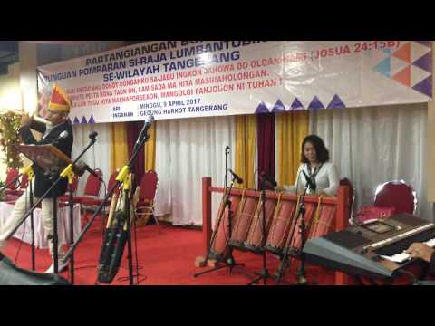Talented Girl Playing Gondang Batak