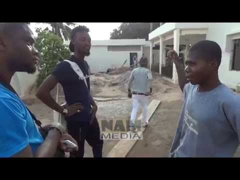 Bisa Kdei, funny face, Adedayor residence - @Lome Togo