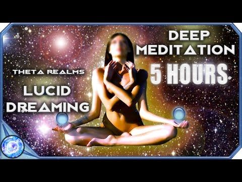 DEEP 5 HOURS! Best lucid Dreaming Technique | Out of Body | Deep Meditation Lucid Dream Music