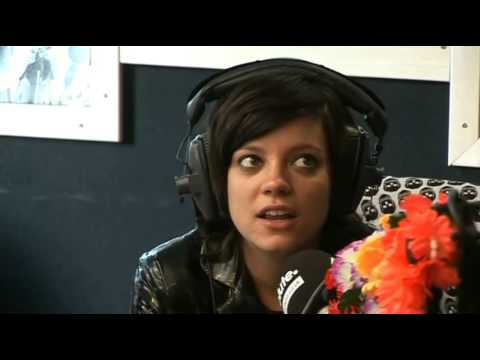 Lily Allen Chats to Geoff Lloyd