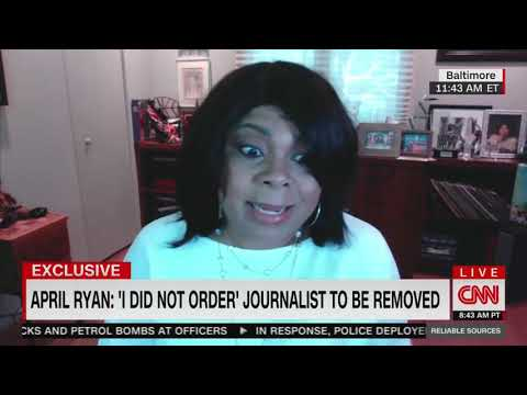 April Ryan Says Bodyguard 'Overreacted' In Alleged Assault On Local Reporter