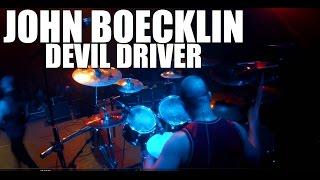 DevilDriver (John Boecklin) - 'Dead To Rights' live drum cam