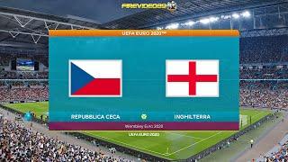Pes 2021 UEFA EURO 2020 Repubblica Ceca Vs Inghilterra