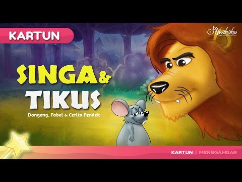Singa Dan Tikus Kartun Anak Dongeng Bahasa Indonesia Youtube