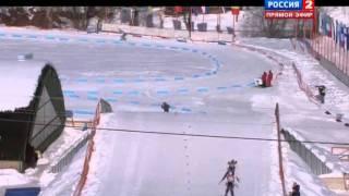 Биатлон Чемпионат Европы. Мужчины. Спринт. 10 км. 28.01.12