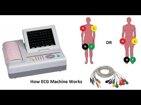 how to make an ecg machine with ina