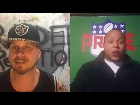 RAIDER ReACTION featuring GHOST to the POST w/ Prime and The Commish.  (Aired 10/11/17)