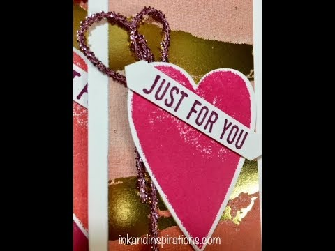 Adding Tinsel or Twine to Your Handmade Cards