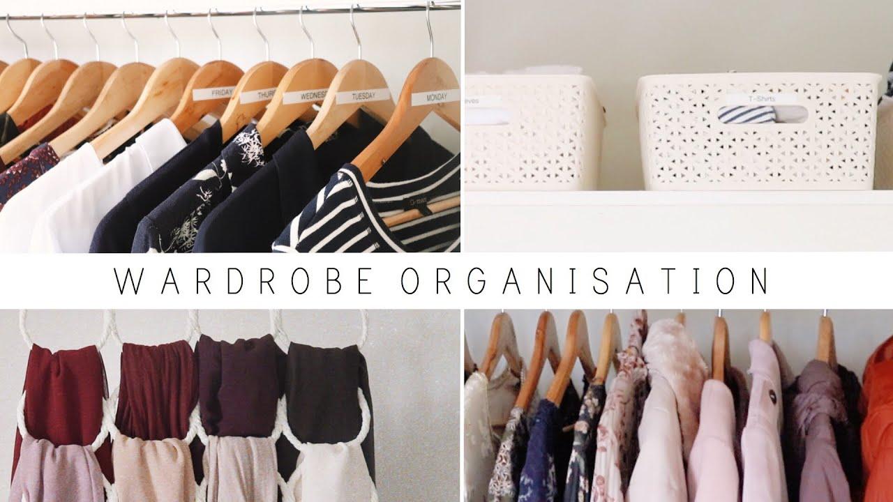 Download WARDROBE ORGANISATION   Closet Declutter & Storage Ideas