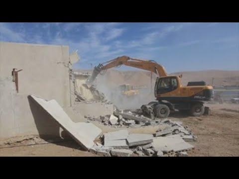 Israel Derriba Tres Casaspalestinas En Territorio Ocupado